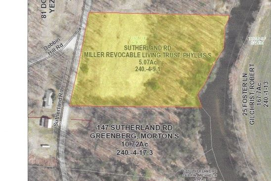 null bed null bath Vacant Land at 0 Sutherland Rd Jackson, NY, 12816 is for sale at 38k - google static map