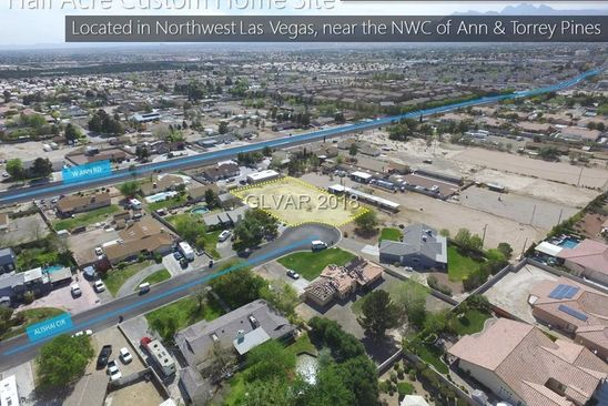 null bed null bath Vacant Land at  Ann Rd & Torrey Pnes Las Vegas, NV, 89130 is for sale at 160k - google static map