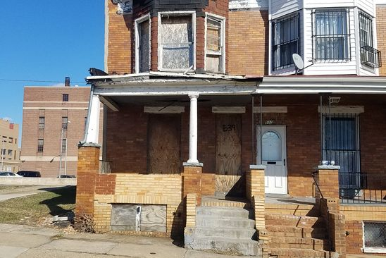 3 bed 1 bath Townhouse at 539 N LONGWOOD ST BALTIMORE, MD, 21223 is for sale at 6k - google static map