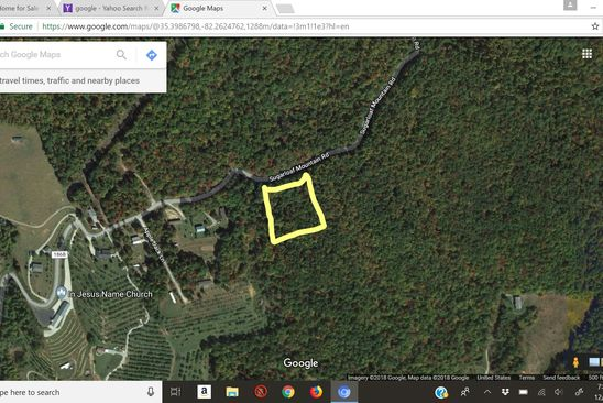 null bed null bath Vacant Land at  Sugarloaf Mountain Rd Hendersonville, NC, 28792 is for sale at 45k - google static map