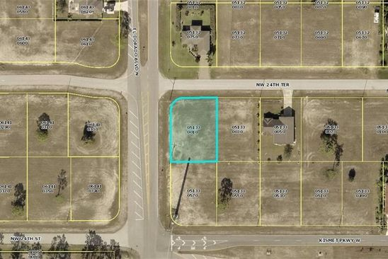 null bed null bath Vacant Land at 2324 NW 24TH TER CAPE CORAL, FL, 33993 is for sale at 11k - google static map