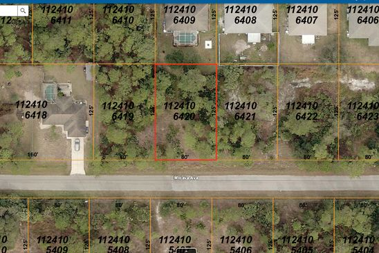 null bed null bath Vacant Land at  MOJAVE AVE NORTH PORT, FL, 34288 is for sale at 10k - google static map