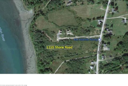 null bed null bath Vacant Land at 1135 Shore Rd Lamoine, ME, 04605 is for sale at 130k - google static map
