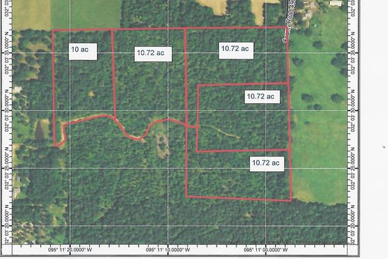 null bed null bath Vacant Land at  Tbd Cr Troup, TX, 75789 is for sale at 238k - google static map