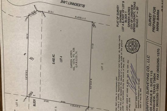 null bed null bath Vacant Land at  Tbd Bluebonnet Ln Longview, TX, 75604 is for sale at 25k - google static map