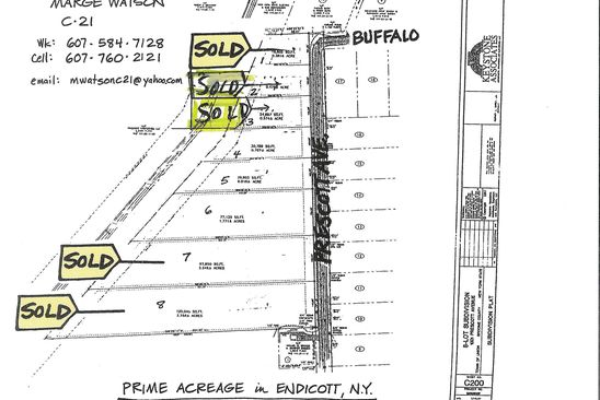 null bed null bath Vacant Land at 1001 Prescott Ave Endicott, NY, 13760 is for sale at 39k - google static map