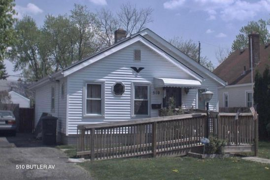 4 bed 2 bath Single Family at 510 BUTLER AVE COLUMBUS, OH, 43223 is for sale at 94k - google static map