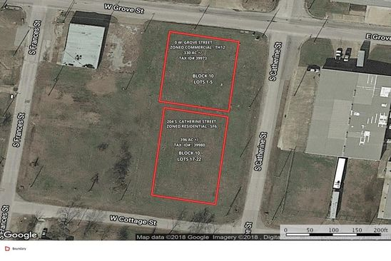null bed null bath Vacant Land at 204 S Catherine St Terrell, TX, 75160 is for sale at 67k - google static map