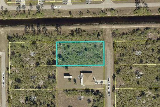 null bed null bath Vacant Land at 721 Greenwood Ave Lehigh Acres, FL, 33972 is for sale at 7k - google static map