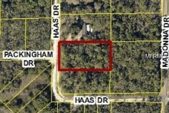 null bed null bath Vacant Land at  34135 Haas Dr Webster, FL, 33597 is for sale at 6k - google static map