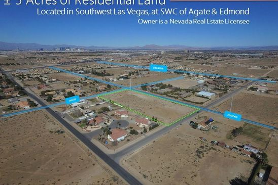 null bed null bath Vacant Land at 1 E Agate Ave Las Vegas, NV, 89123 is for sale at 700k - google static map