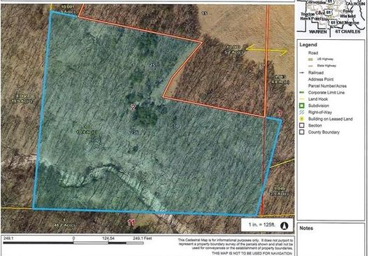 null bed null bath Vacant Land at 0 Austin Ct Silex, MO, 63377 is for sale at 48k - google static map