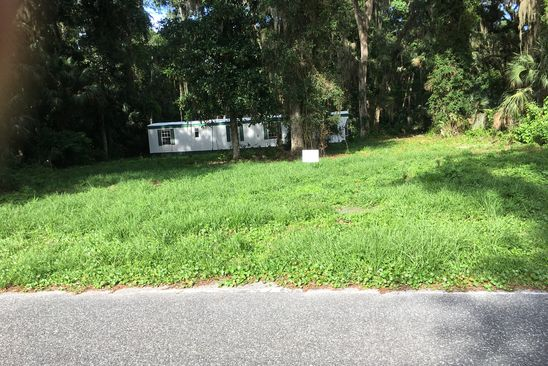 3 bed 1 bath Mobile / Manufactured at 144 GEORGETOWN POINT RD GEORGETOWN, FL, 32139 is for sale at 16k - google static map