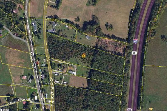 null bed null bath Vacant Land at 10.50 Ac Old Baxter Rd Baxter, TN, 38544 is for sale at 65k - google static map