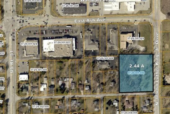 null bed null bath Vacant Land at  N Martin Luther King Jr. Dr Decatur, IL, 62526 is for sale at 250k - google static map