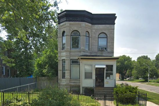 4 bed 3 bath Multi Family at 7400 S PRINCETON AVE CHICAGO, IL, 60621 is for sale at 220k - google static map