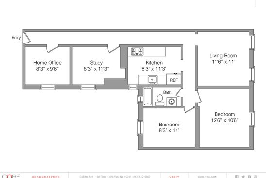 4 bed 1 bath Cooperative at 619 W 143rd St New York, NY, 10031 is for sale at 250k - google static map