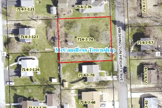 null bed null bath Vacant Land at  Washington Heights Ave McAndless, PA, 15237 is for sale at 55k - google static map
