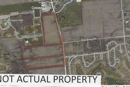4 bed null bath Vacant Land at 5987 Cosgray Rd Dublin, OH, 43016 is for sale at 5.28m - google static map