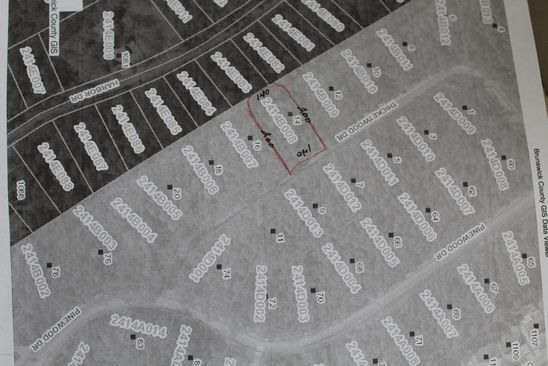 null bed null bath Vacant Land at 14 Thicketwood Dr Calabash, NC, 28467 is for sale at 17k - google static map