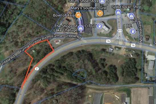 null bed null bath Vacant Land at 4015 FURMAN GRIBBLE RD YOUNG HARRIS, GA, 30582 is for sale at 75k - google static map