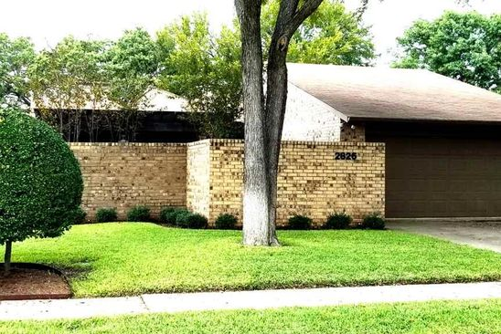 3 bed 2 bath Single Family at 2826 MILL VALLEY DR WICHITA FALLS, TX, 76308 is for sale at 156k - google static map