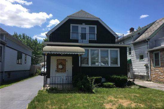 4 bed 2 bath Multi Family at 221 HASTINGS AVE BUFFALO, NY, 14215 is for sale at 54k - google static map