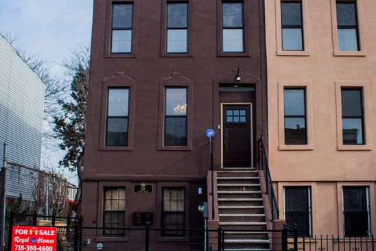 5 bed 6 bath Multi Family at 15 Louis Pl Brooklyn, NY, 11233 is for sale at 1.10m - google static map