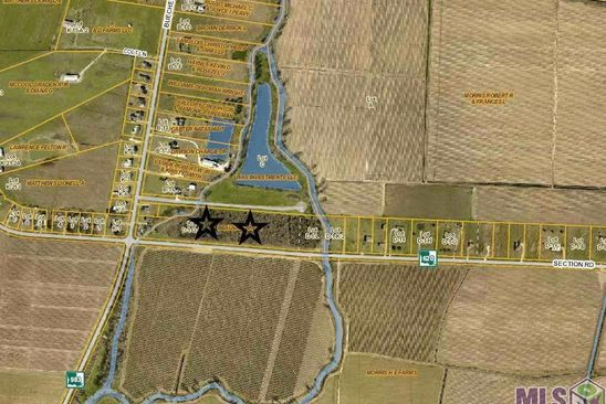 null bed null bath Vacant Land at D1M2 Section Rd Port Allen, LA, 70767 is for sale at 40k - google static map