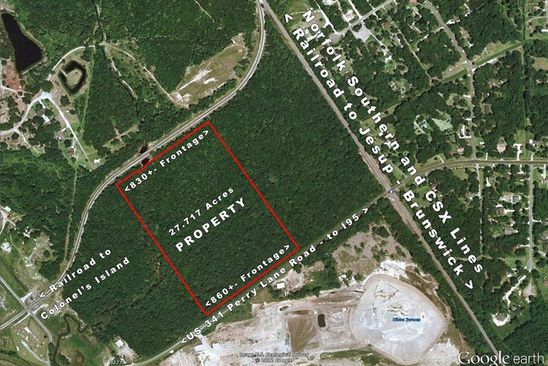 null bed null bath Vacant Land at 891 Perry Lane Rd Brunswick, GA, 31525 is for sale at 600k - google static map