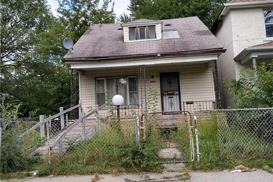 3 bed 1 bath Single Family at 7520 HANOVER ST DETROIT, MI, 48206 is for sale at 45k - google static map