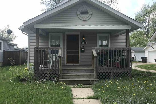 2 bed 1 bath Single Family at 2115 ANDREW ST FORT WAYNE, IN, 46808 is for sale at 55k - google static map