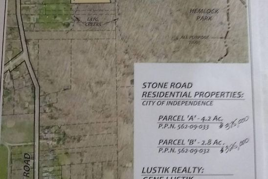null bed null bath Vacant Land at  Parcel A Stone Rd Independence, OH, 44134 is for sale at 375k - google static map