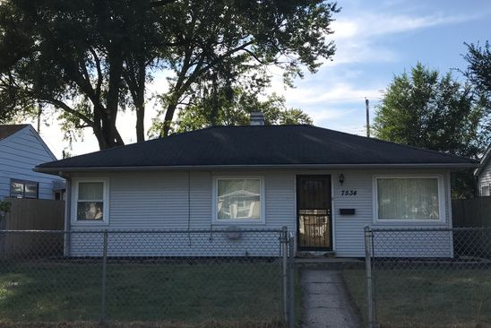 3 bed 1 bath Single Family at 7534 Catalpa Ave Hammond, IN, 46324 is for sale at 78k - google static map