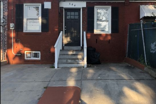 2 bed 2 bath Single Family at 644 BEIDEMAN AVE CAMDEN, NJ, 08105 is for sale at 69k - google static map
