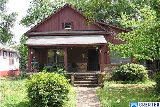 4 bed 2 bath Single Family at 1645 Cleveland Ave SW Birmingham, AL, 35211 is for sale at 33k - google static map