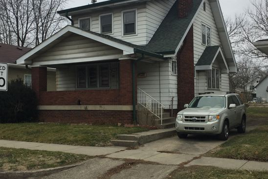 4 bed 2 bath Single Family at 309 N Denny St Indianapolis, IN, 46201 is for sale at 70k - google static map
