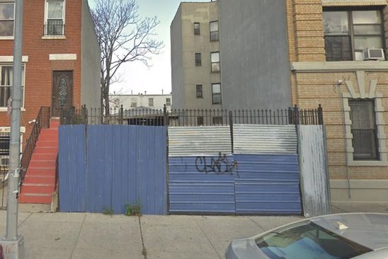 4 bed null bath Vacant Land at 555 KOSCIUSZKO ST BROOKLYN, NY, 11221 is for sale at 1m - google static map