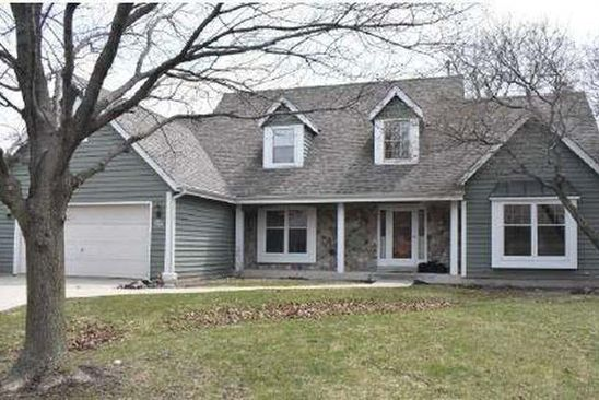 4 bed 3 bath Single Family at W168N4924 STONEFIELD RD MENOMONEE FALLS, WI, 53051 is for sale at 390k - google static map
