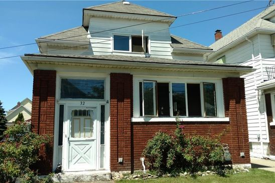 6 bed 2 bath Multi Family at 32 GUALBERT AVE BUFFALO, NY, 14211 is for sale at 70k - google static map