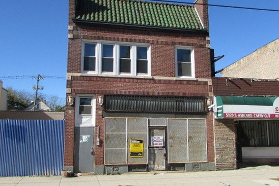 8 bed 5 bath Multi Family at 5022 S Ashland Ave Chicago, IL, 60609 is for sale at 130k - google static map