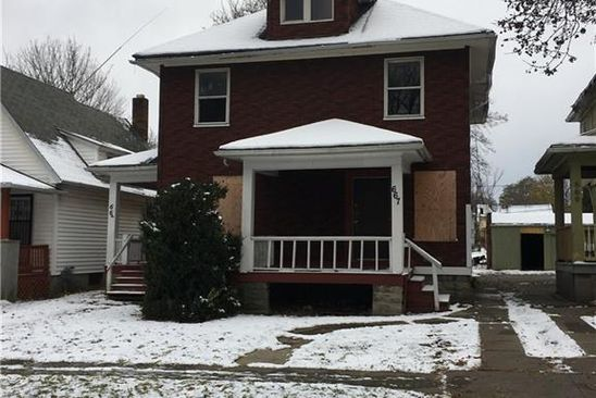 4 bed 2 bath Multi Family at 665 Frost Ave Rochester, NY, 14611 is for sale at 40k - google static map