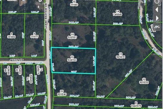 null bed null bath Vacant Land at 7242 Glenchester Dr Webster, FL, 33597 is for sale at 8k - google static map