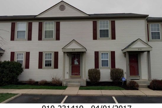 2 bed 1 bath Condo at 218 Macandrews Way Blacklick, OH, 43004 is for sale at 70k - google static map