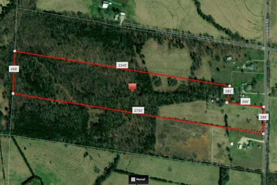 null bed null bath Vacant Land at 14525 HARDIN RD DE SOTO, MO, 63020 is for sale at 81k - google static map