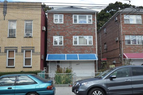6 bed 2 bath Single Family at 1467 HAMMERSLEY AVE BRONX, NY, 10469 is for sale at 725k - google static map