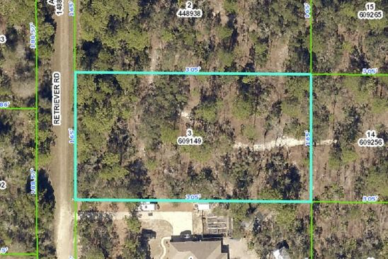null bed null bath Vacant Land at 00000 Retriever Rd Spring Hill, FL, 34606 is for sale at 14k - google static map