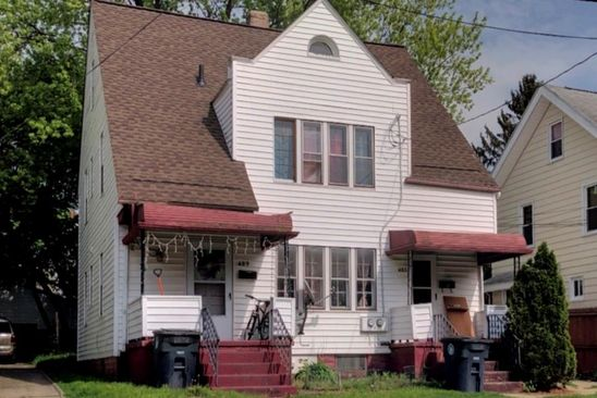 4 bed 2 bath Multi Family at 487 489 Delmar Ave Akron, OH, 44310 is for sale at 55k - google static map