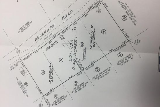 null bed null bath Vacant Land at LOT46/48 Block 12 Shohola, PA, 18458 is for sale at 20k - google static map