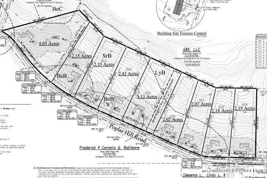 3 bed null bath Vacant Land at 5 Poplar Hill Rd Lebanon, ME, 04027 is for sale at 39k - google static map